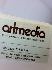 michel caron,artmedia