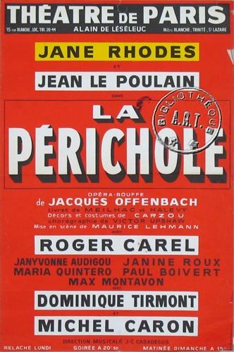 michel caron,ténor,nicolas treatt,janes rhodes,Henri MEILHAC,Ludovic HALÉVY
